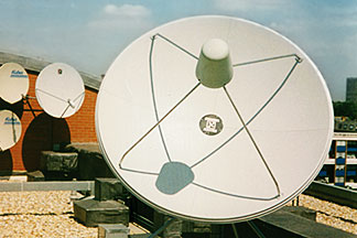 Communications - satellite antennae