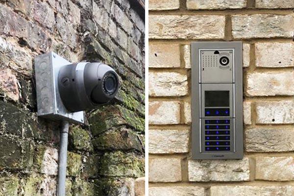 CCTV gate entry
