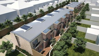 Halford Place Mews development by Leo Developments