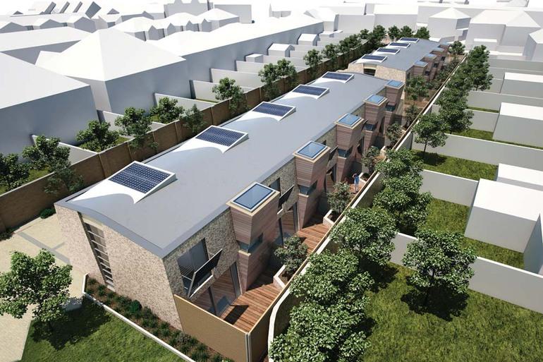 Halford Place Mews development by Leo Developments