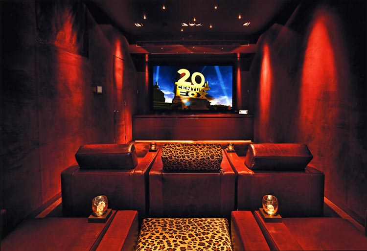 Home cinema installation, London