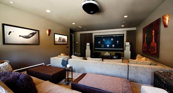 Smart home multi room audio visual