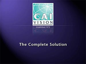 CAI Vision The Complete Solution brochure ( range)