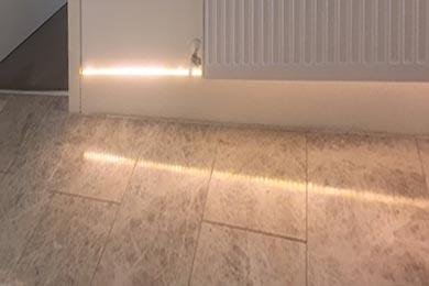 LED interior lighting detail