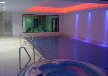 Automated lighting - swimming pool
