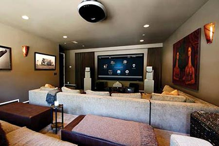 Smart home automation - multi room audio visual