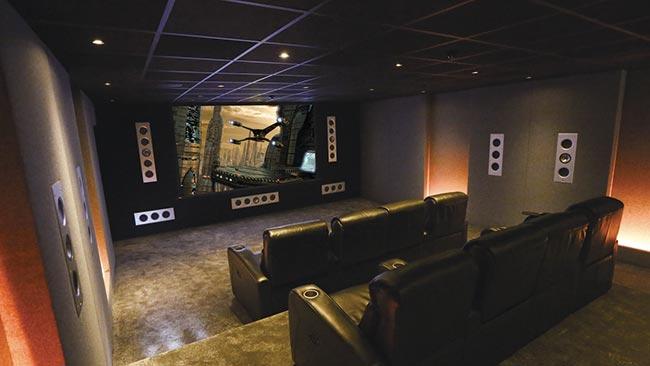 Home Cinema Design & Installation // Cai Vision, London