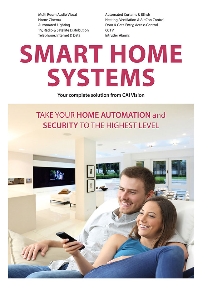 Smart Home Systems brochure cover