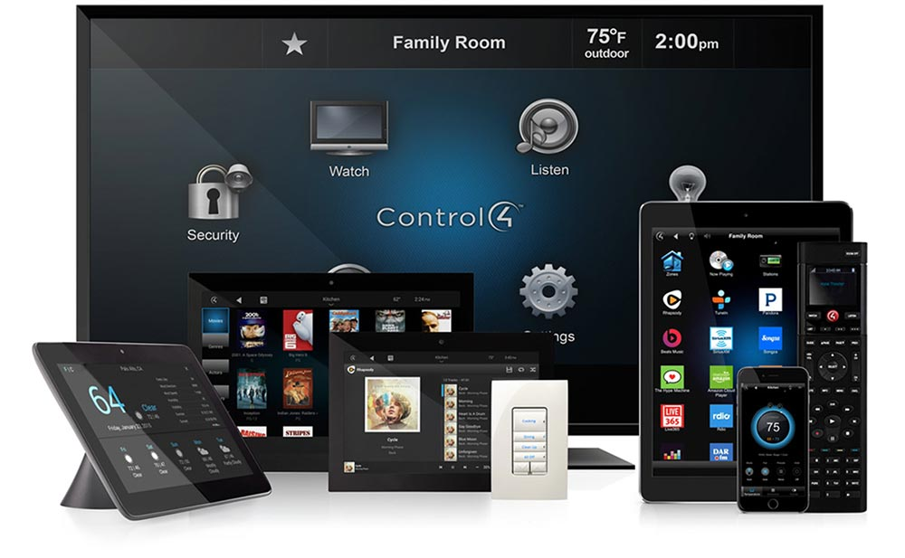 Home automation - Control 4 devices