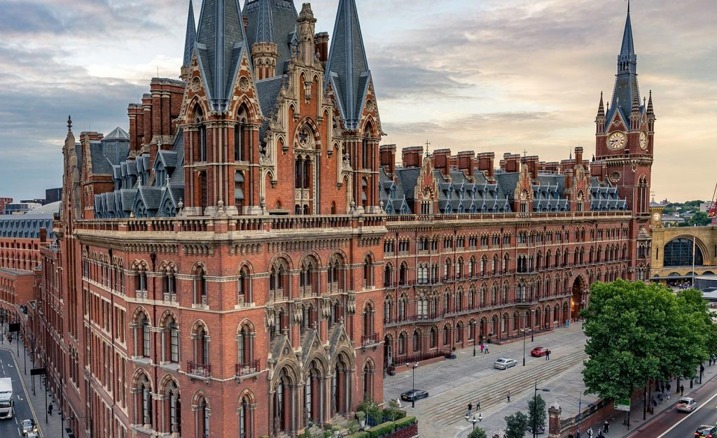 Communications project - St Pancras hotelSt Pancras Chambers