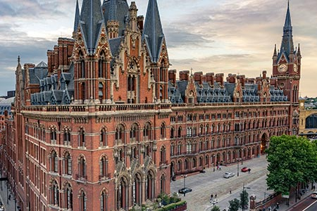 Communications project - St Pancras hotel
