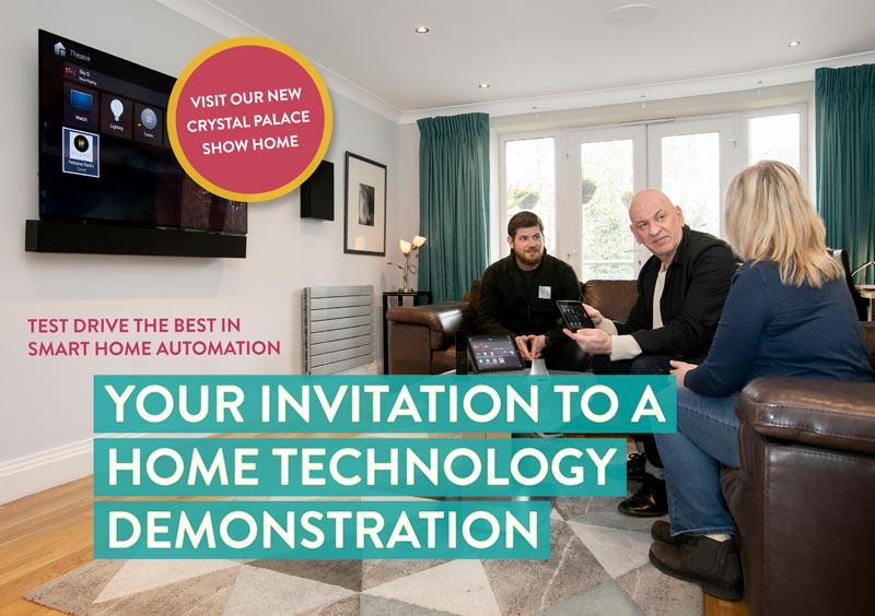 Home automation demo show home, Crystal Palace